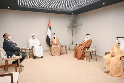 دقلو يلتقي نائب رئيس مجلس الوزراء وزير شؤون الرئاسة الاماراتى