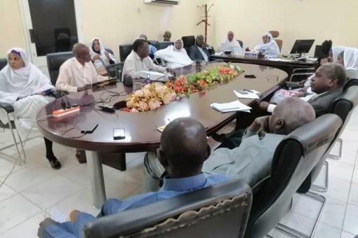 وزارة المالية بجنوب دارفور تستعرض تقرير خطة العام 2021