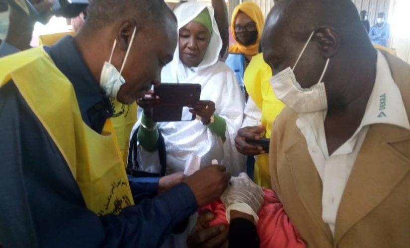 تدشين الحملة القومية للاستجابة لوباء شلل الأطفال بغرب دارفور