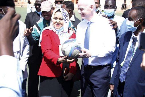 انفانتينو: نجاح دوري كرة القدم للسيدات سيغير صورة السودان