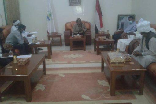 والي ولايةنهر النيل تؤكد اهتمام حكومتها بدعم واستقرار