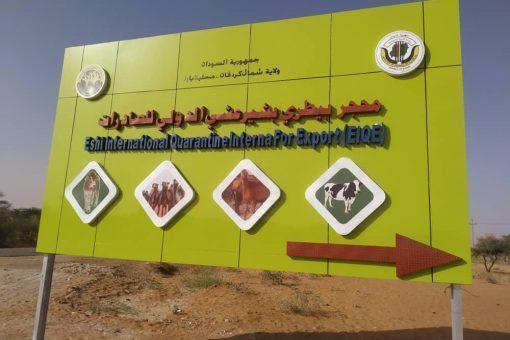 افتتاح أول محجر دولي لصادر الضأن والإبل بشمال كردفان غداً
