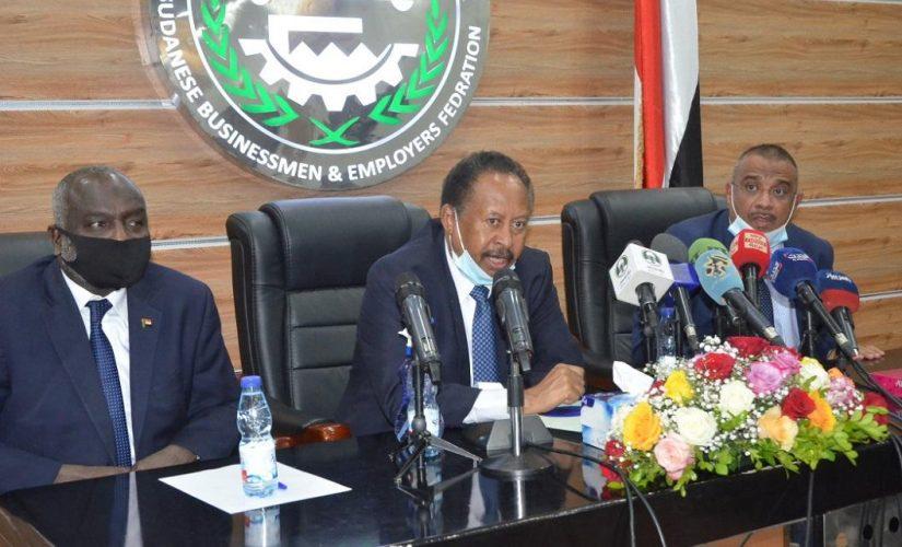 حمدوك: الحكومة الإنتقالية تعالج التحديات الإقتصادية برؤية متكاملة