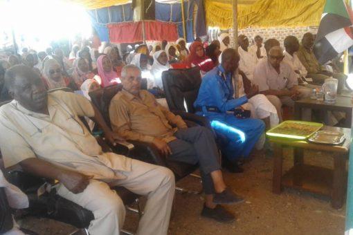 تكريم المتفوقين بالأساس والثانوي في محلية شرق سنار