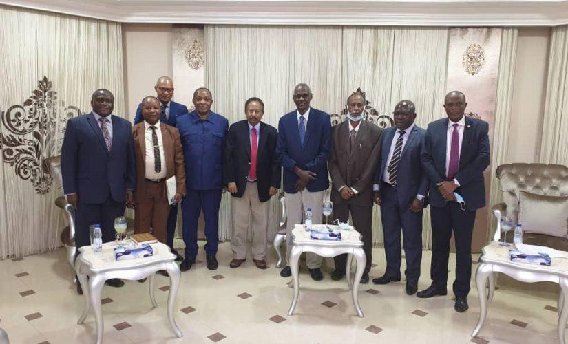 د.حمدوك يطّلع على مبادرة الاتحاد الأفريقي بشأن ملف سد النهضة