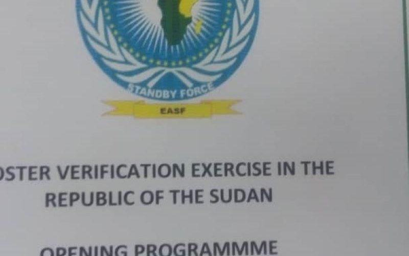 إنطلاق معاينات المكون المدني السوداني لقوات شرق أفريقيا