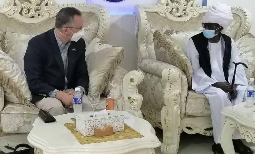 شنقراي يبحث مع القائم بالاعمال لامريكي دعم العلاقات الثنائية