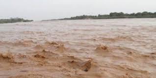فيضان النيل الأبيض يهدد مدينة الكوة