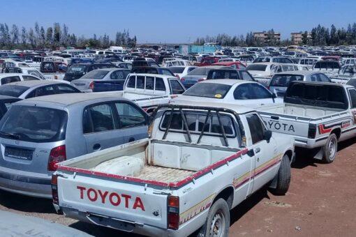 التجارة:لن نسمح بدخول المركبات للبلاد بطرق غير قانونية