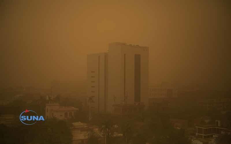 الارصاد: تأثر أجزاء واسعة من البلاد بعاصفة ترابية مساء الخميس