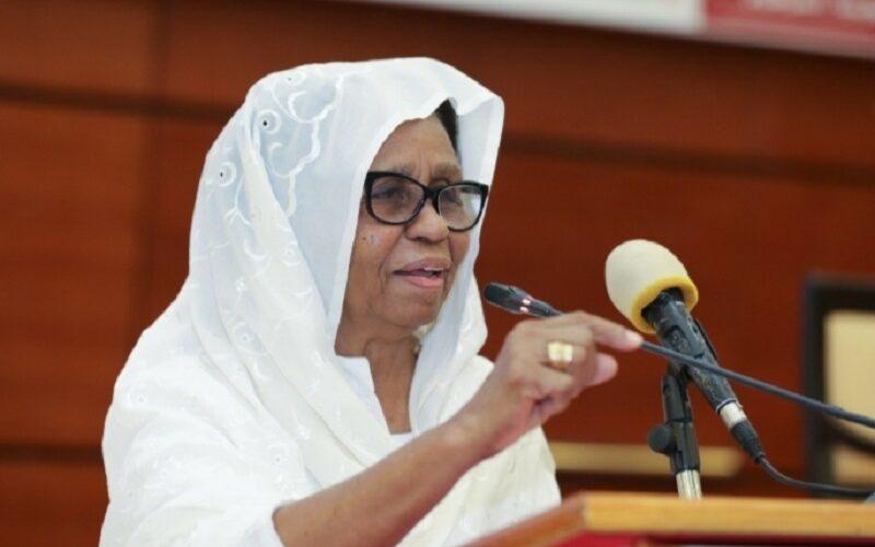 عائشة موسى تدعو لتمكين المرأة من المشاركة في صنع القرار