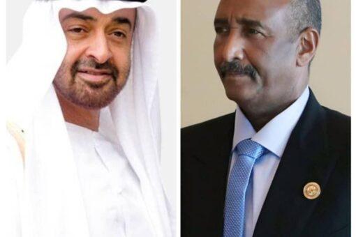 البرهان يعزى نائب رئيس دولة الإمارات المتحدة في وفاة اخيه