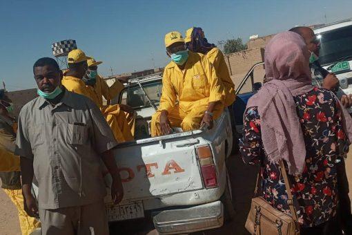 تدشين حملة مكافحة نواقل الأمراض بمحلية أبوحمد