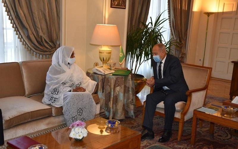 أبو الغيط يؤكد لمريم الصادق الدعم العربي لعملية الإنتقال بالسودان