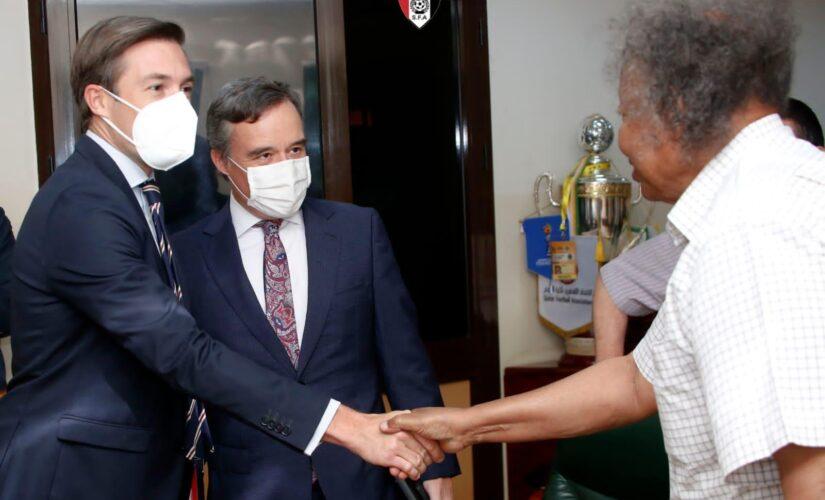 شداد يلتقي سفير اسبانيا بالخرطوم