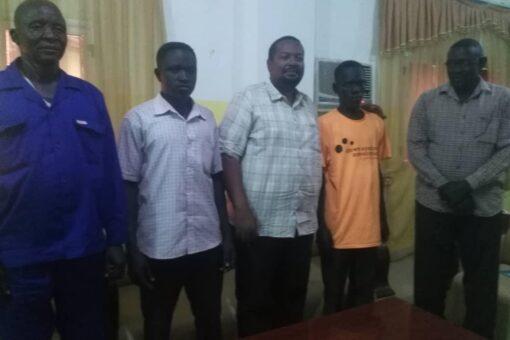 النيل الأزرق تودع أبطال المصارعة المشاركين في المنافسات الخارجية