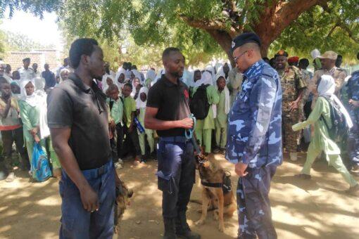 إستجلاب كلاب شرطية لكشف الجريمة ومنعها بكادقلي
