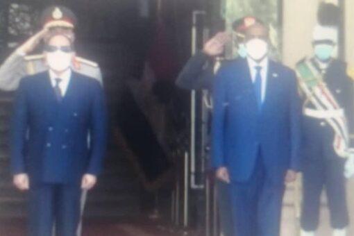 وصول الرئيس المصري