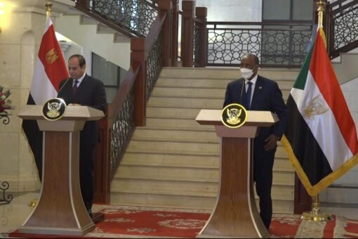 البرهان : زيارة الرئيس السيسي تؤكد التعاون والتنسيق بين الدولتين