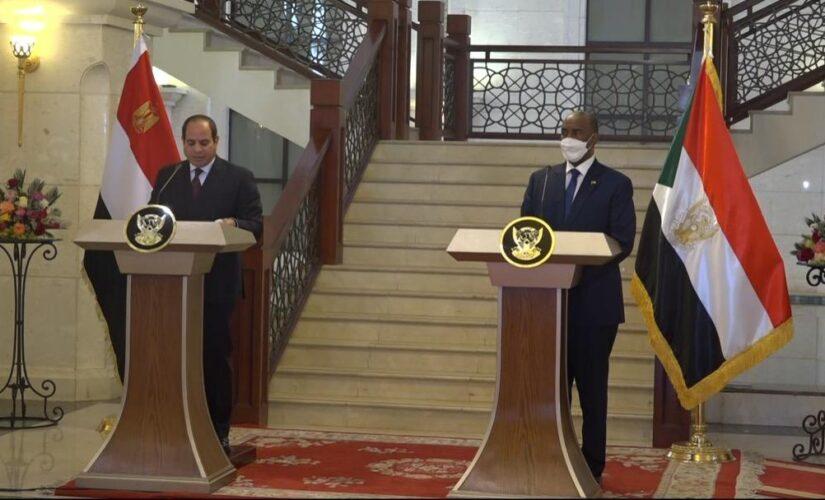 الرئيسان البرهان والسيسي يؤكدان حتمية العودة لمفاوضات جادة لسد النهضة