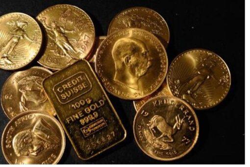 إرتفاع أسعار الذهب في ظل هبوط عوائد السندات