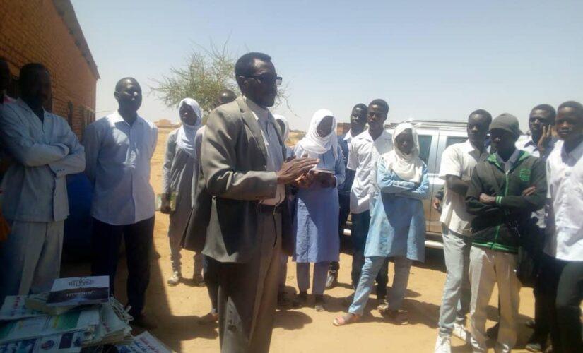 شمال دارفور: دعم مدارس محلية طويلة بالمكتبات الثقافية