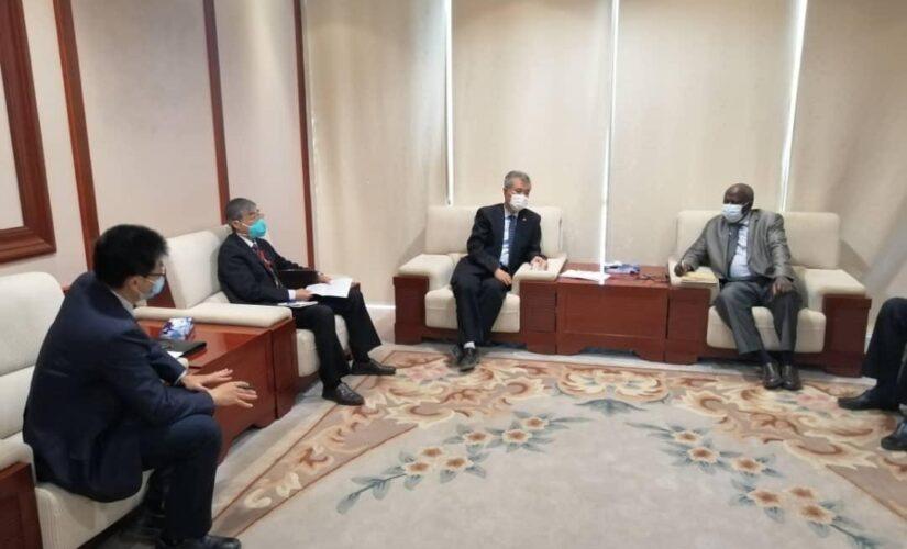 جادين يبحث مع شركة CNPC الصينية التعاون في الصناعات النفطية
