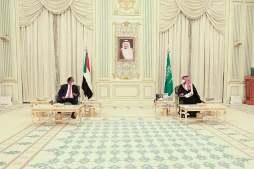 د.حمدوك وولي العهد السعودي يبحثان تطوير العلاقات التنموية