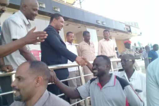 والي النيل الأبيض يتعهد بدعم الأندية وإكمال البنى التحتية للرياضة