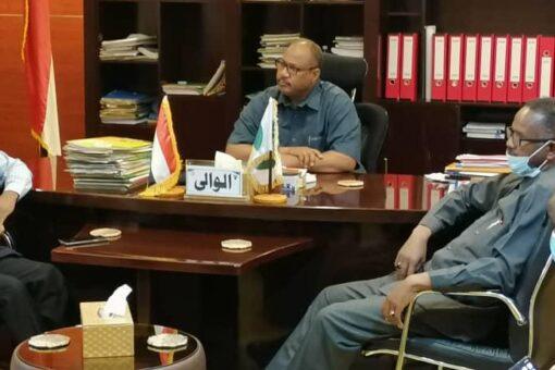 لقاء بين والي شمال كردفان وبرنامج الأمم المتحدة الإنمائي