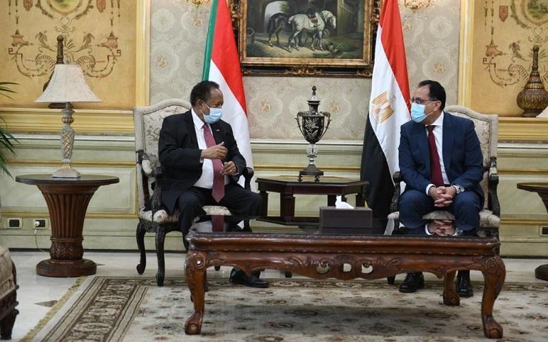 حمدوك: العلاقة بين مصر والسودان تقوم على اساس استراتيحي