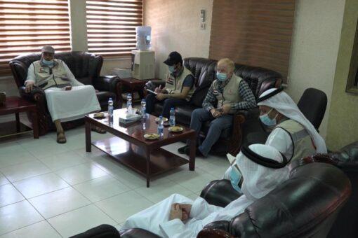وفــد إمــاراتي: يبحث آفاق التعاون مع الهلال الأحمر السوداني
