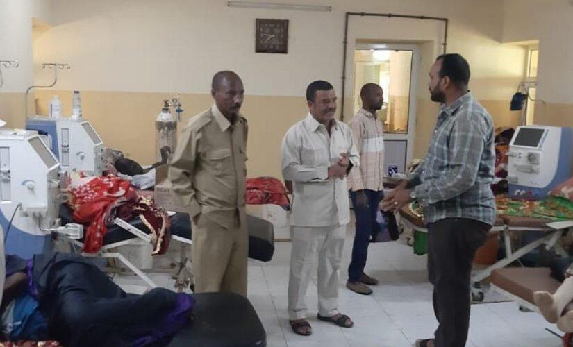 الصحة بنهر النيل تقف على سير العمل بالمرافق الصحية