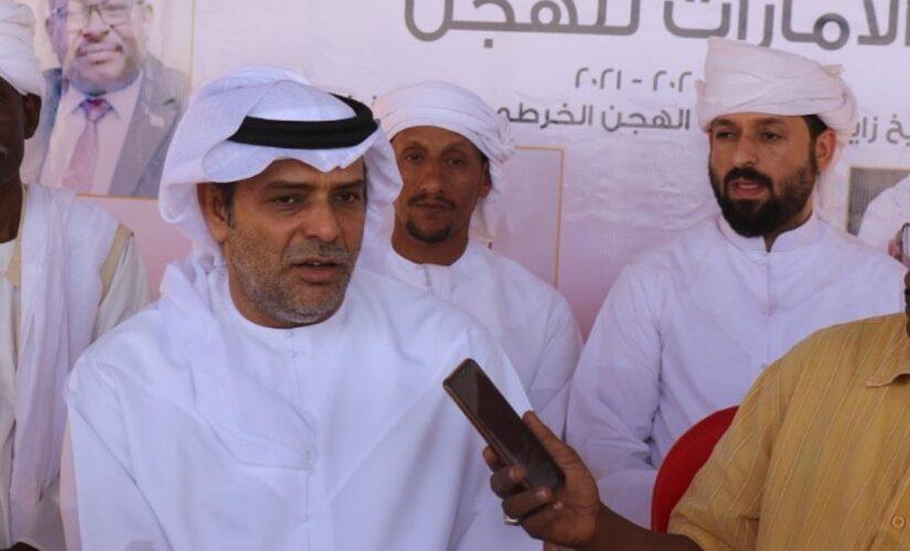 السفير الاماراتي يؤكد دعم بلاده لرياضة سباق الهجن بالسودان
