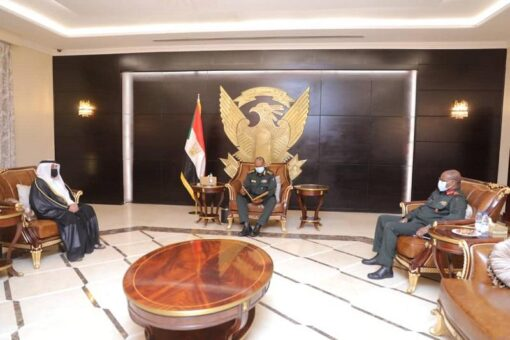 برهان يتسلم دعوة رسمية من الشيخ تميم لزيارة قطر