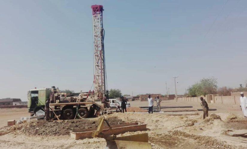 منظمة سُقيا السودان تدشن محطة مياه بتكلفة 8آلاف دولار بالجزيرة