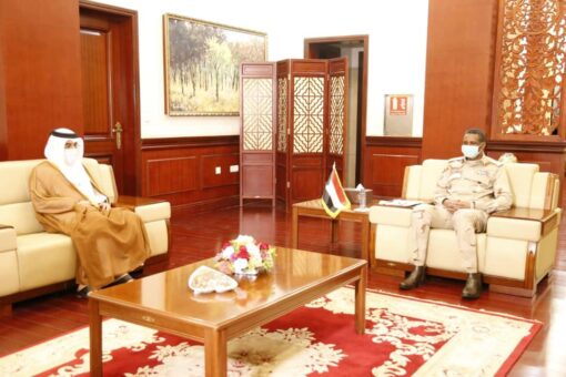 دقلو يستقبل نائب رئيس التحالف العالمي للمؤسسات الوطنية لحقوق الإنسان