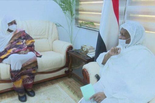 عائشة موسى تؤكد دعمها للمرأة السودانية حتى تضطلع بدورها المطلوب