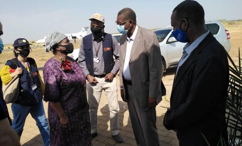 رئيسة صندوق الأمم المتحدة للسكان تزور النيل الازرق