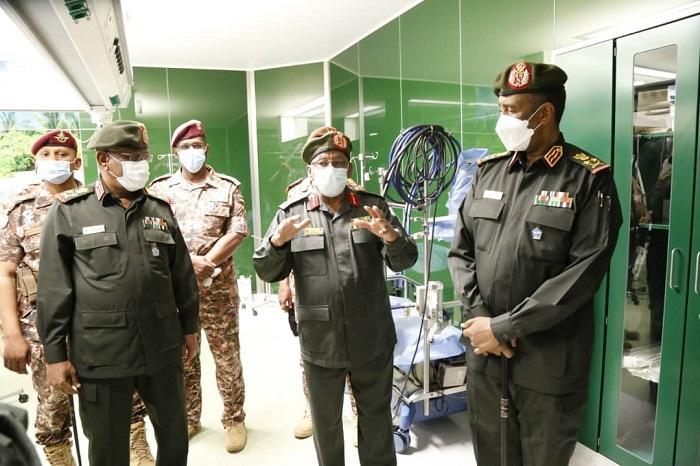 البرهان يفتتح قسم القسطرة التشخيصية والعلاجية بمستشفى علياء