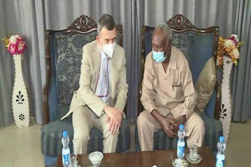 فولكر يعرب عن تقدير الأمم المتحدةلإستضافةالسودان لأكثر من مليون لاجئ