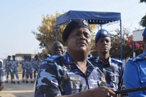 مدير شرطة جنوب كردفان يتفقد الوحدات العامة