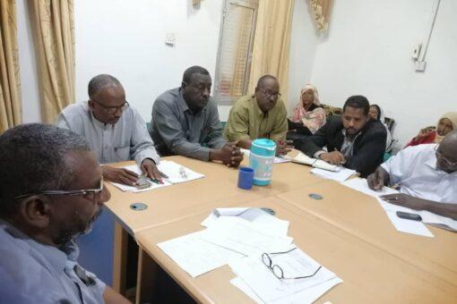 غرفة عمليات الشتوي بنهر النيل تطمئن على ترتيبات الحصاد