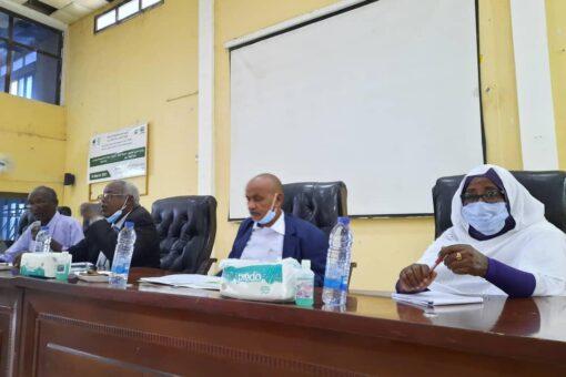 تدشين مشروع السودان للإدارة المستدامة للموارد الطبيعية.بالقضارف
