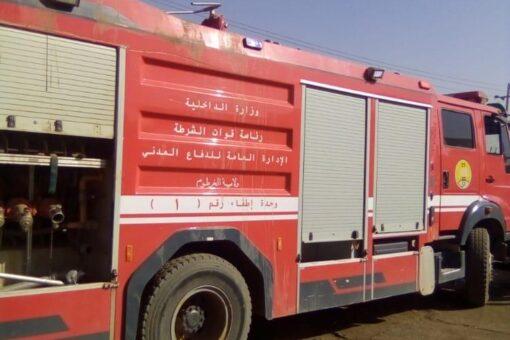 الدفاع المدنى بالخرطوم يسيطر على حريق بمحطة وقود بالشقلة
