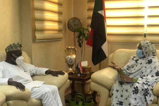 وزيرة الخارجية تستقبل الرئيس النيجيرى الأسبق اوباسانجو