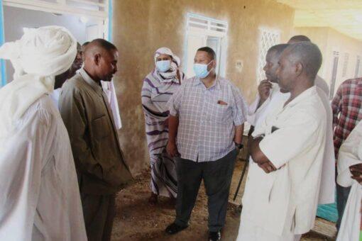 تدشين نفرة إكمال مستشفى شبونة التخصصي بجنوب الجزيرة