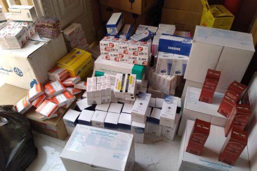 تسيير قافلة مساعدات طبية لمتضرري الحريق بريفي الفاشر الغربي