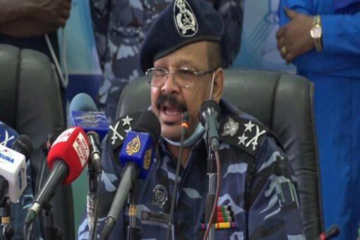 مدير عام قوات الشرطة يتفقد قيادة قوات الاحتياطي المركزي