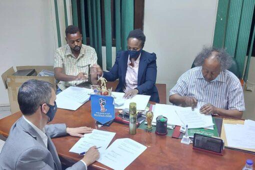الاتحاد السوداني لكرة القدم يوقع مذكرة تفاهم لتطوير كرة القدم